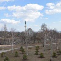 Мечеть вид сверху :: Александр Кузин