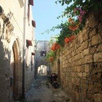 В Старом городе , Родос, Греция :: Елена Лукожева