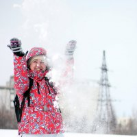 Снежок. :: Дмитрий Арсеньев