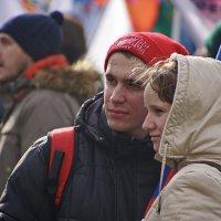 "Митинг ""Антимайдан"" в Москве 21.02.2015г :: Евгений Жиляев"
