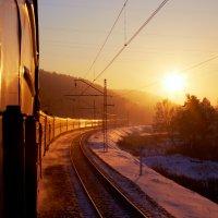 уходящее Солнце :: Алексей Белик