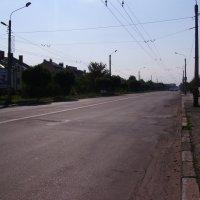 Улица  Тименицкая  в  Ивано - Франковске :: Андрей  Васильевич Коляскин