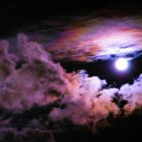 Луна в облаках. :: Раскосов Николай