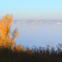 Осень туманная :: Валерий Лазарев