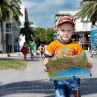 Мальчик с картой :: Владимир Кудинов