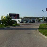 Автозаправка  ОККО  в Ивано - Франковске :: Андрей  Васильевич Коляскин