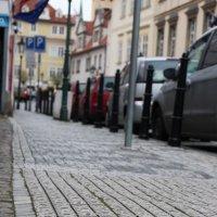 Тротуар в Праге :: Михаил Красюк