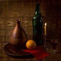 Свеча горела на столе... :: Александр Сергеев