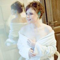 Невеста Дарья _ моя работы 2013 г. Прическа & мэйк & стилизация свадьбы :: Юлия Маслова