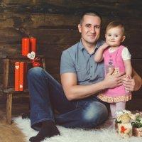 Папа и дочка.. :: Олеся (Лесика) Касьянова
