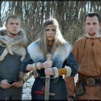 викинги :: Наталья Аверкина