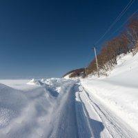 Зимняя дорога. :: Поток