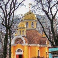 Храм в честь святителя Луки Крымского и мученицы Валентины :: Александр Корчемный