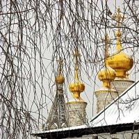 Рязанский Кремль.Богоявленская церковь.Главы.1647 г. :: Лесо-Вед (Баранов)