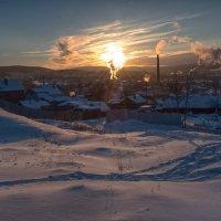 Вечер в деревне :: vladimir