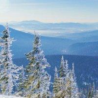 Зима в горах :: Андрей Макаров