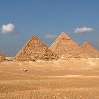Великие пирамиды Древнего Египта :: Евгений Печенин