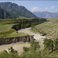 Порог Турбинный-река Чуя :: Наталия Григорьева