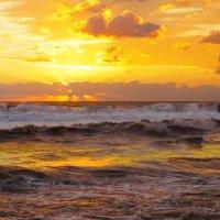 Вечернее море в Адлере :: Дмитрий Редьков