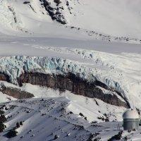Обсерватория и ледник на Эльбрусе. :: Олег Петрушин