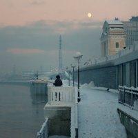 Лунный рыбак :: Александр | Матвей БЕЛЫЙ