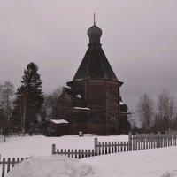 Церковь Николая Чудотворца в Лявле :: Наталья Левина