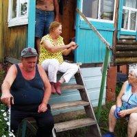 Собрание пенсионеров на даче :: Владимир Ростовский