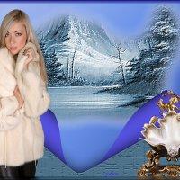 Зима... :: Lyubov Zomova