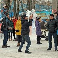 Северодвинск. Масленица. Танец белых чёртиков :: Владимир Шибинский