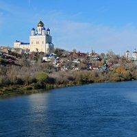 Вознесенский собор на берегу реки Б.Сосна :: Canon PowerShot SX510 HS
