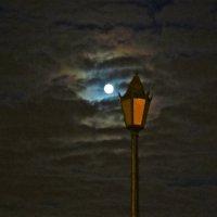 луна,фонарь :: Елена