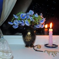 У ночного окна :: Павлова Татьяна Павлова