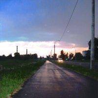 дорога к закату :: Екатерина Потапова
