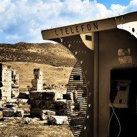 Телефонная будка в античном городе Иераполис :: Эрик Делиев