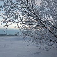 Северодвинск. Недавно была зима. У театрального озера :: Владимир Шибинский
