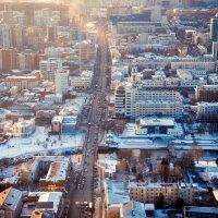 Закат над Екатеринбургом :: Андрей Липов
