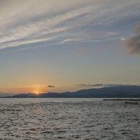 закат,Бали,океан :: Александр