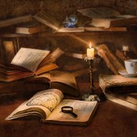 Книжный бардак... :: Владимир Голиков
