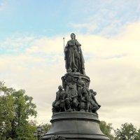 Памятник Екатерине II в Ст.-Петербурге. :: Елена