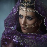 Индийское утро.. :: Надежда Шибина
