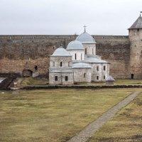 Николаевская церковь и Успенский собор в Ивангородской крепости :: Слава