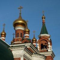 Храм Георгия Победоносца :: Натали Акшинцева