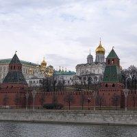 Кремлёвские купола. :: Яков Реймер