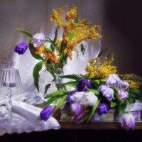 Женщина не может без весны... :: Валентина Колова