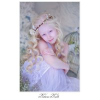Белокурый ангел весны :: Tatiana Treide