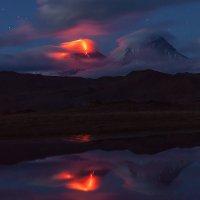 Вулканы в огне :: Денис Будьков