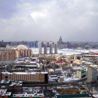 Москва с высоты птичьего полёта. :: Елена