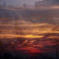 город в закате :: Марина Зяблова