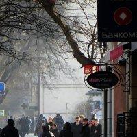 Большая Садовая - Богатяновский. Утро :: Николай Семёнов