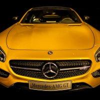 AMG GT Желтая) :: Daniel Woloschin
